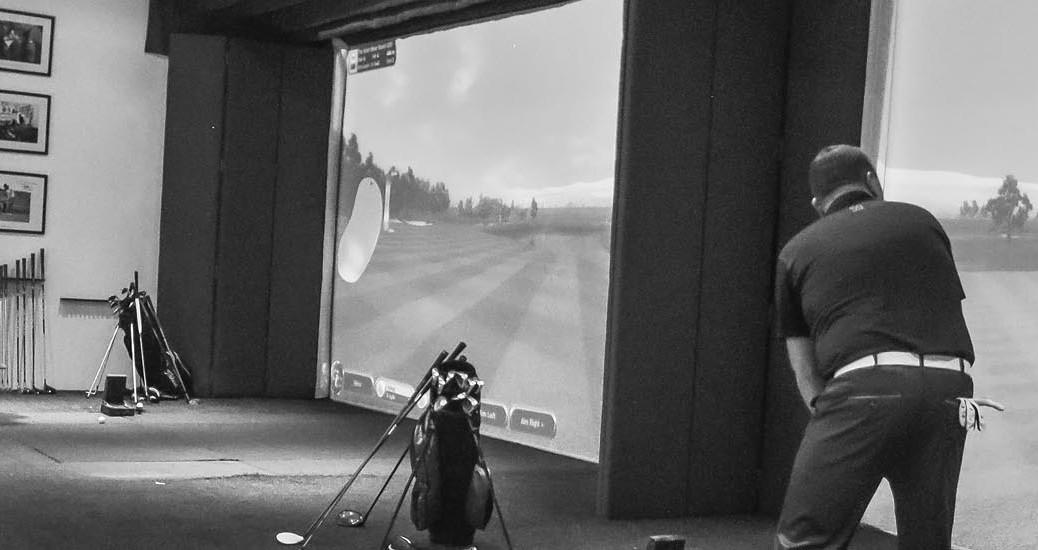 Golfový turnaj pořádá Golf59 tradičně ve svém indoor centru za využití golfových simulátorů.