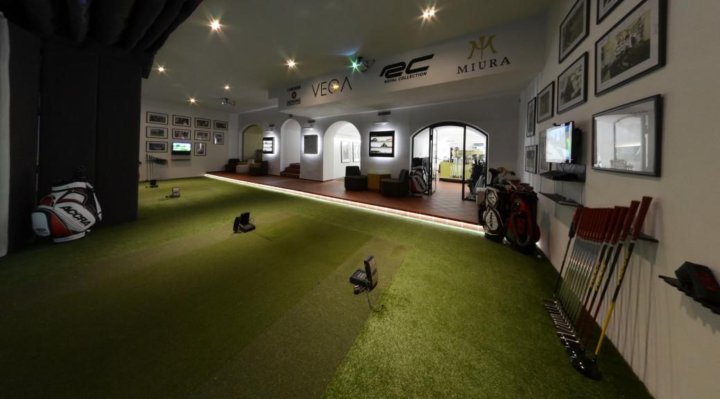 Luxusní zázemí pro členy klubu Golf59.