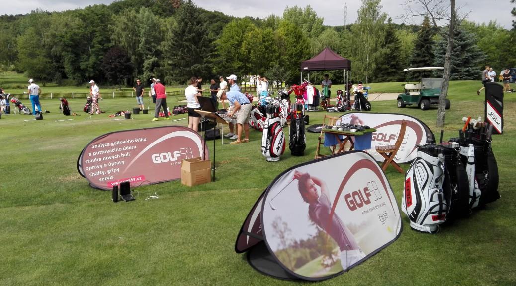 Koutek Golf59 při příležitosti oslav založení Golf Clubu Praha.
