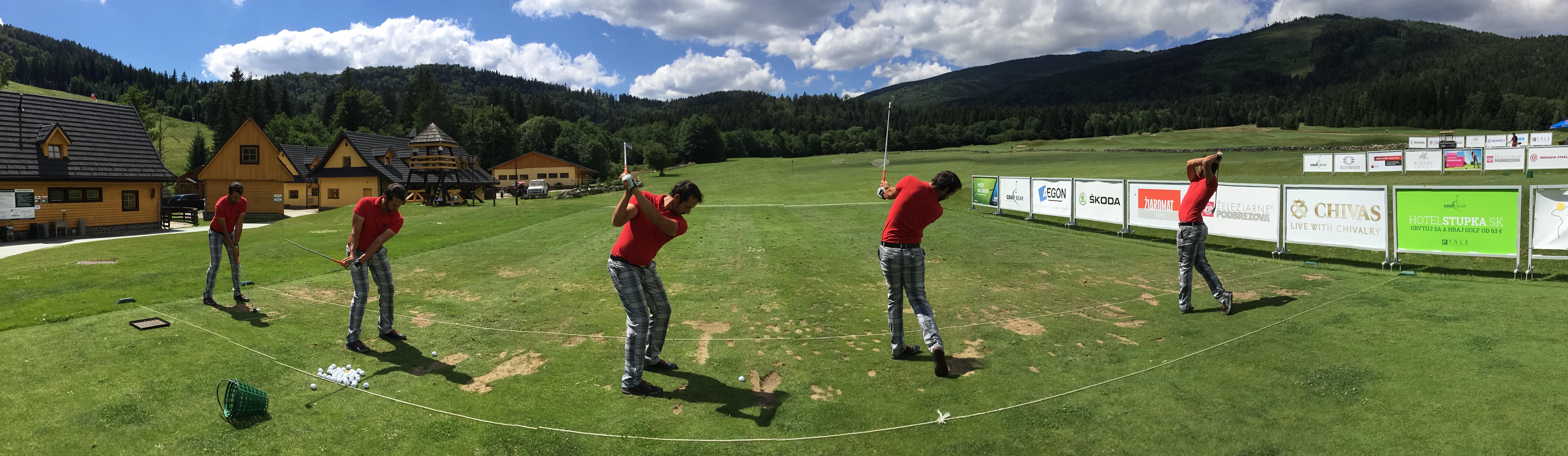 Milan Vantuch při tréninku ve slovenských Tálích