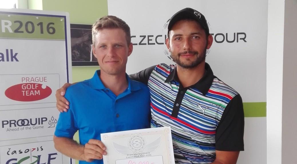 Třetí místo na turnaji v Liberci získali dlouholetí spoluhráči Vantuch a Jánošík.