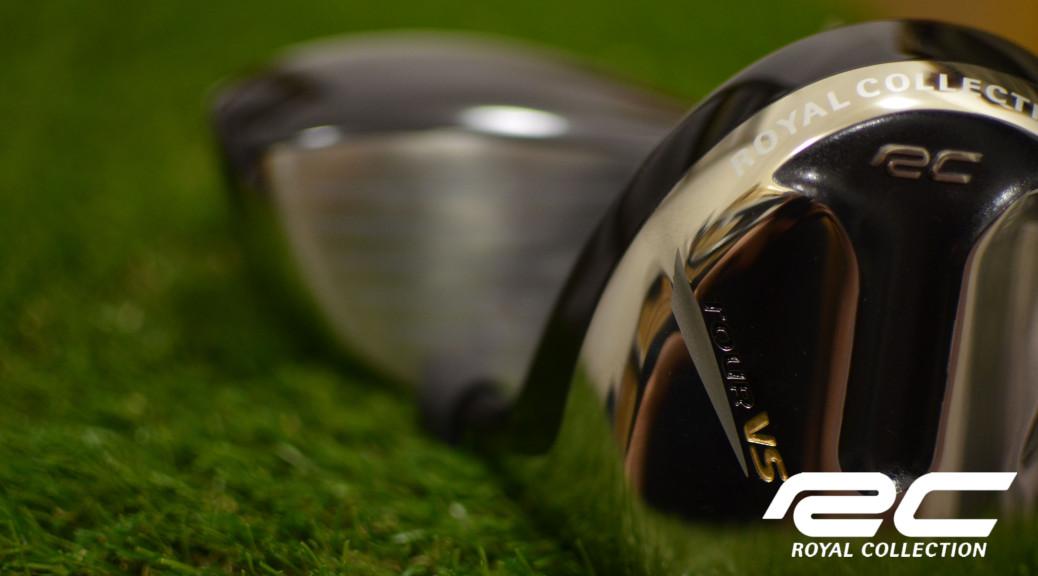 Detail golfové hlavy od značky Royal Collection.