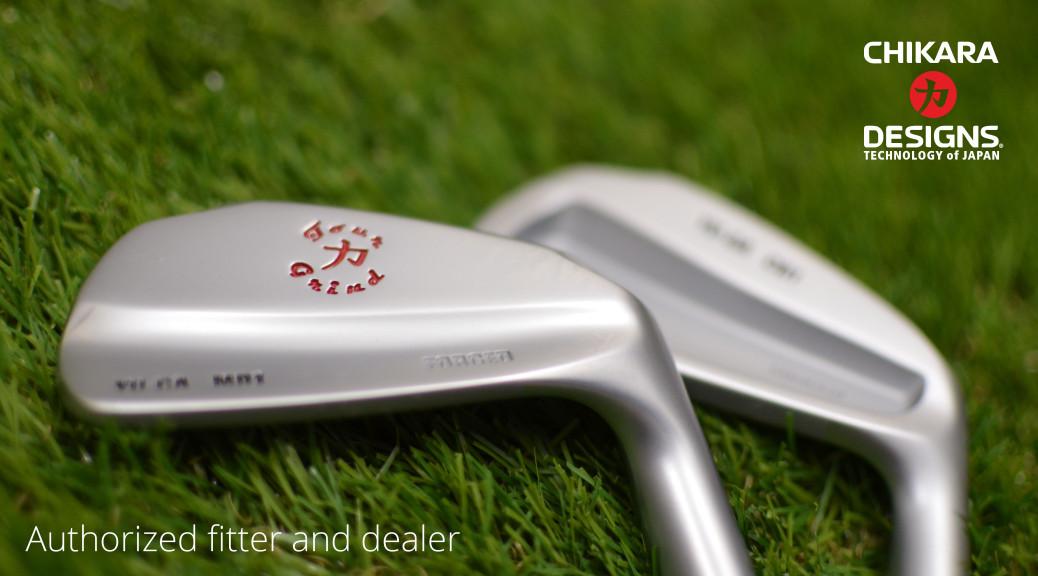 Detail želez (irons) od značky Chikara.