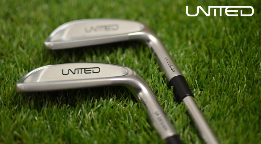 Detail želez (irons) od značky United.