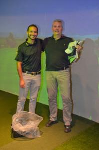 Vítěz celé golfové Tour Golf59 s naším trenérem Milanem Vantuchem.